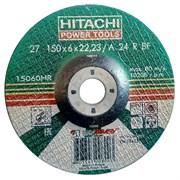 Диск абразивный Hitachi 150*6,0*22.2 металл.