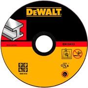 Диск абразивный DeWalt INDUSTRIAL 180*1,6*22,2 металл DT 42380Z-QZ