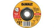 Диск абразивный DeWalt 125*6,3*22,2 металл DT 43917-QZ