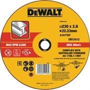 Диск абразивный DeWalt 230*2,8*22,2 металл DT 43913-QZ